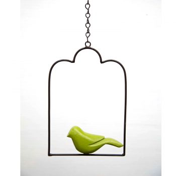 Hanging-birds-accessory---arch-green