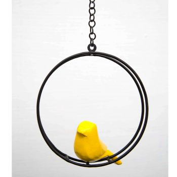 Hanging-birds-accessory---arch-yellow